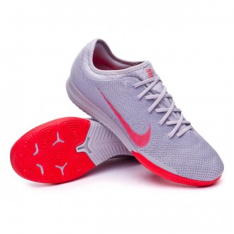 Futsal Boot  Nike Mercurial VaporX XII Pro IC Wolf grey-Bright crimson-Pure platinum