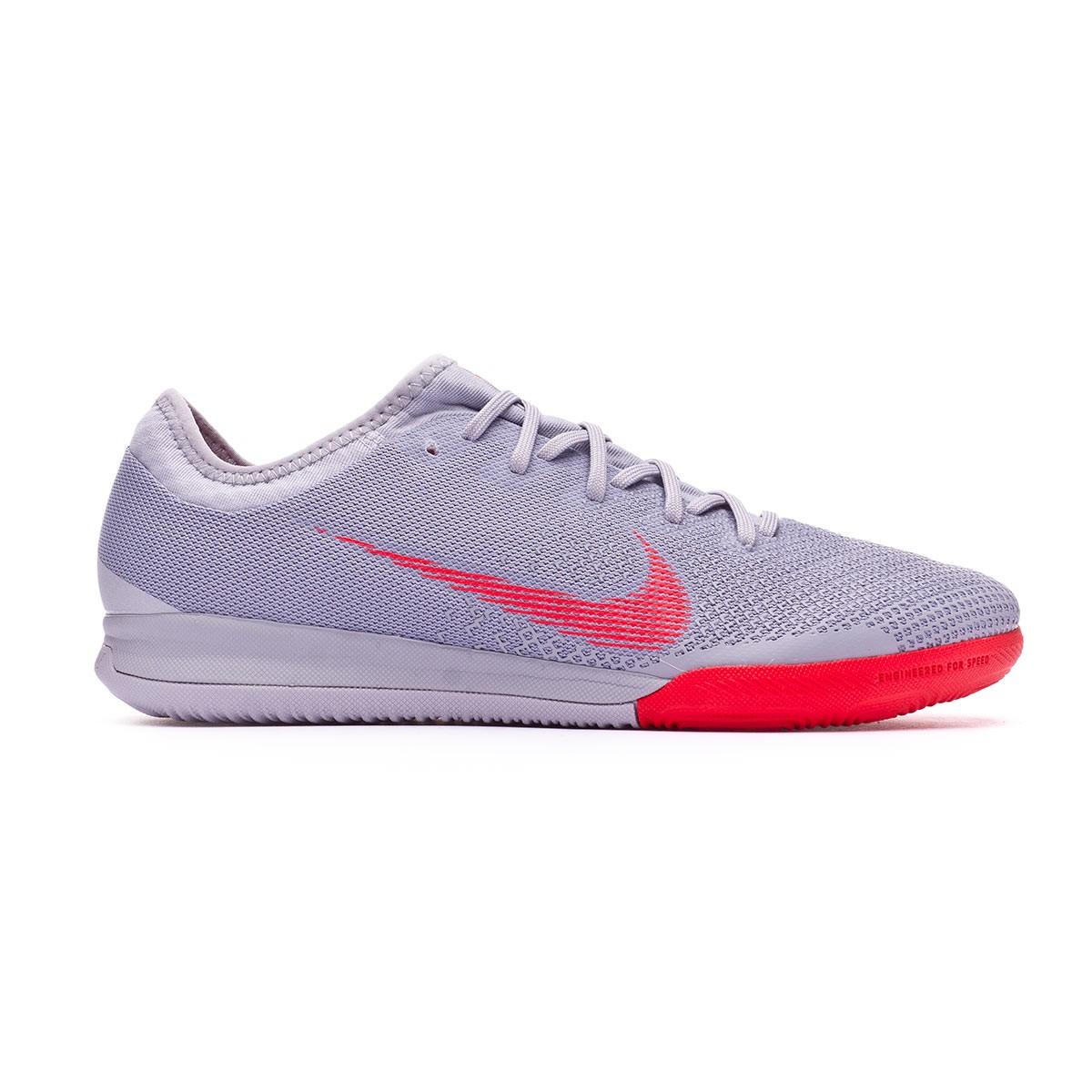 3b17e5d83 Futsal Boot Nike Mercurial VaporX XII Pro IC Wolf grey-Bright crimson-Pure  platinum - Football store Fútbol Emotion
