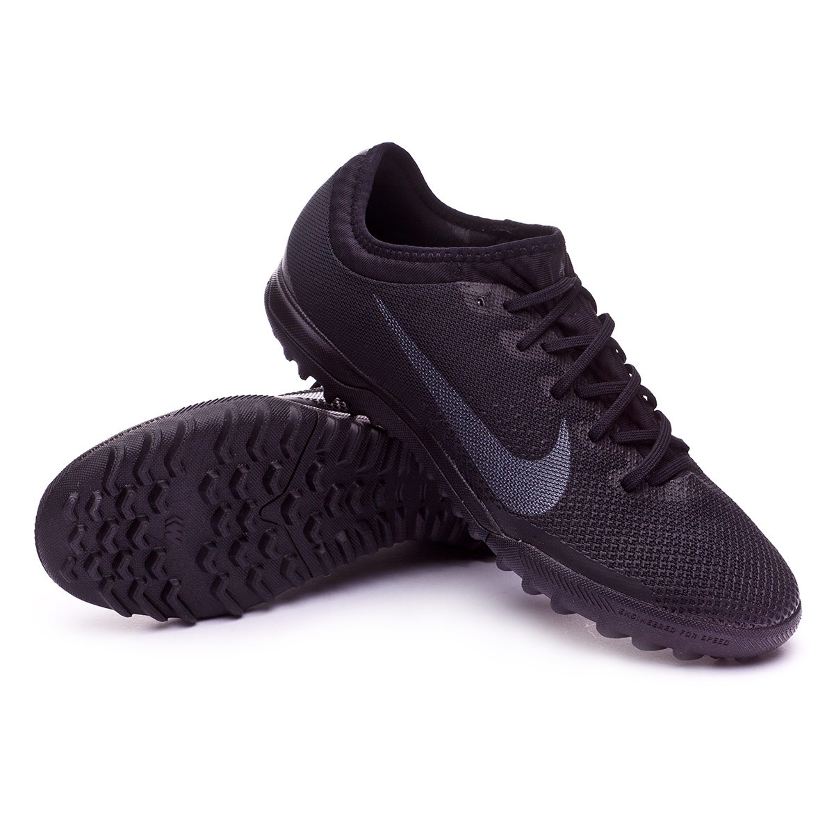 75d8f643897f3 Football Boot Nike Mercurial Vapor XII Pro Turf Black - Tienda de ...