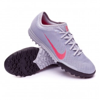 Football Boot  Nike Mercurial VaporX XII Pro Turf Wolf grey-Light crimson-Black