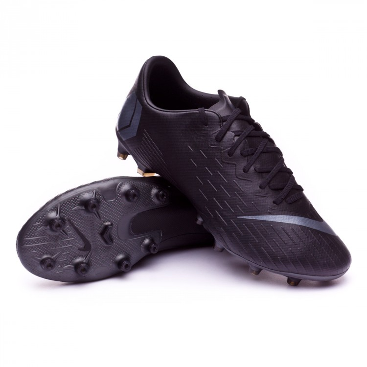 0a6c04cfd2955 Football Boots Nike Mercurial Vapor XII Pro AG-Pro Black - Football ...