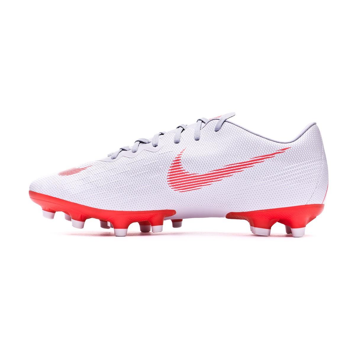 ea173b7b6 Boot Nike Mercurial Vapor XII Pro AG-Pro Wolf grey-Light crimson-Pure  platinum - Leaked soccer