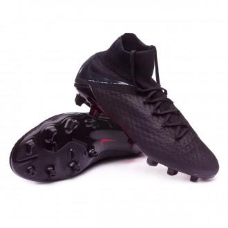 Chuteira  Nike Hypervenom Phantom III Pro DF FG Black