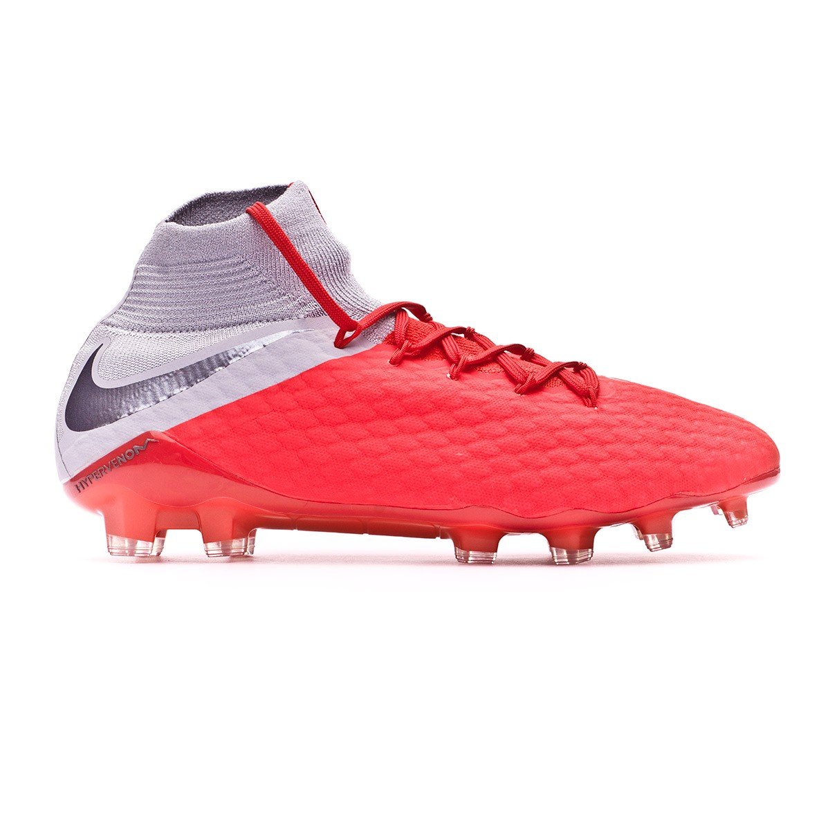 569fcd13fff Football Boots Nike Hypervenom Phantom III Pro DF FG Light crimson-Metallic  dark grey-Wolf grey - Tienda de fútbol Fútbol Emotion