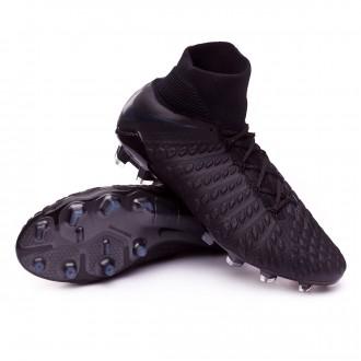 Zapatos de fútbol  Nike Hypervenom Phantom III Elite DF FG Black