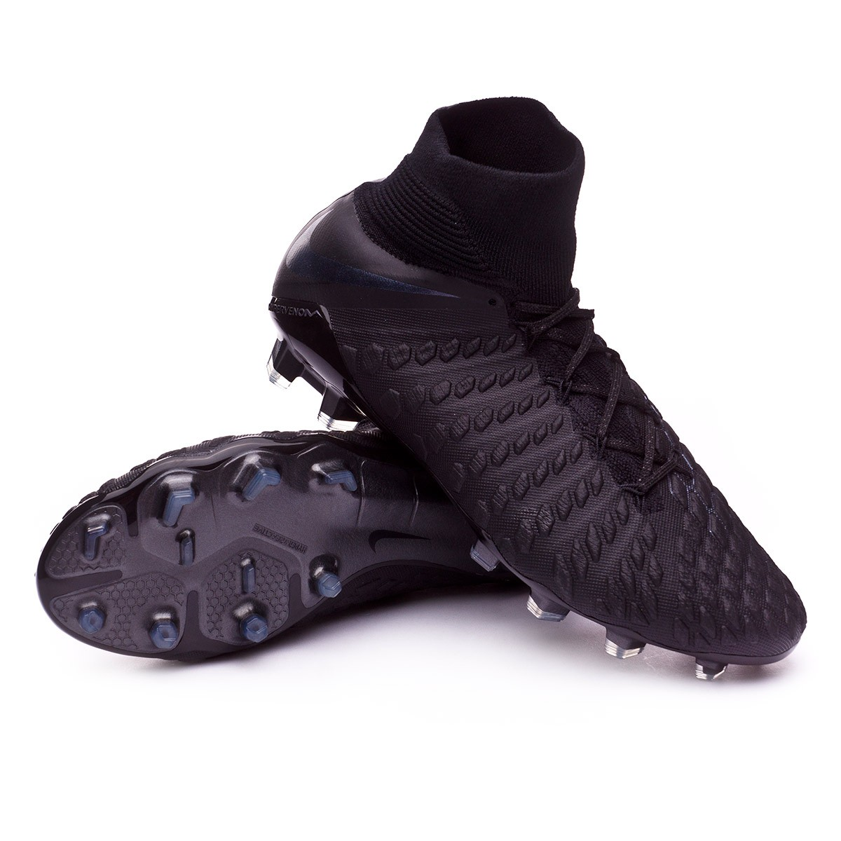sports shoes 393b4 97c8e Bota Hypervenom Phantom III Elite DF FG Black