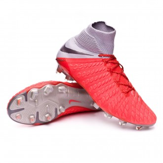 Bota  Nike Hypervenom Phantom III Elite DF FG Light crimson-Metallic dark grey-Wolf grey