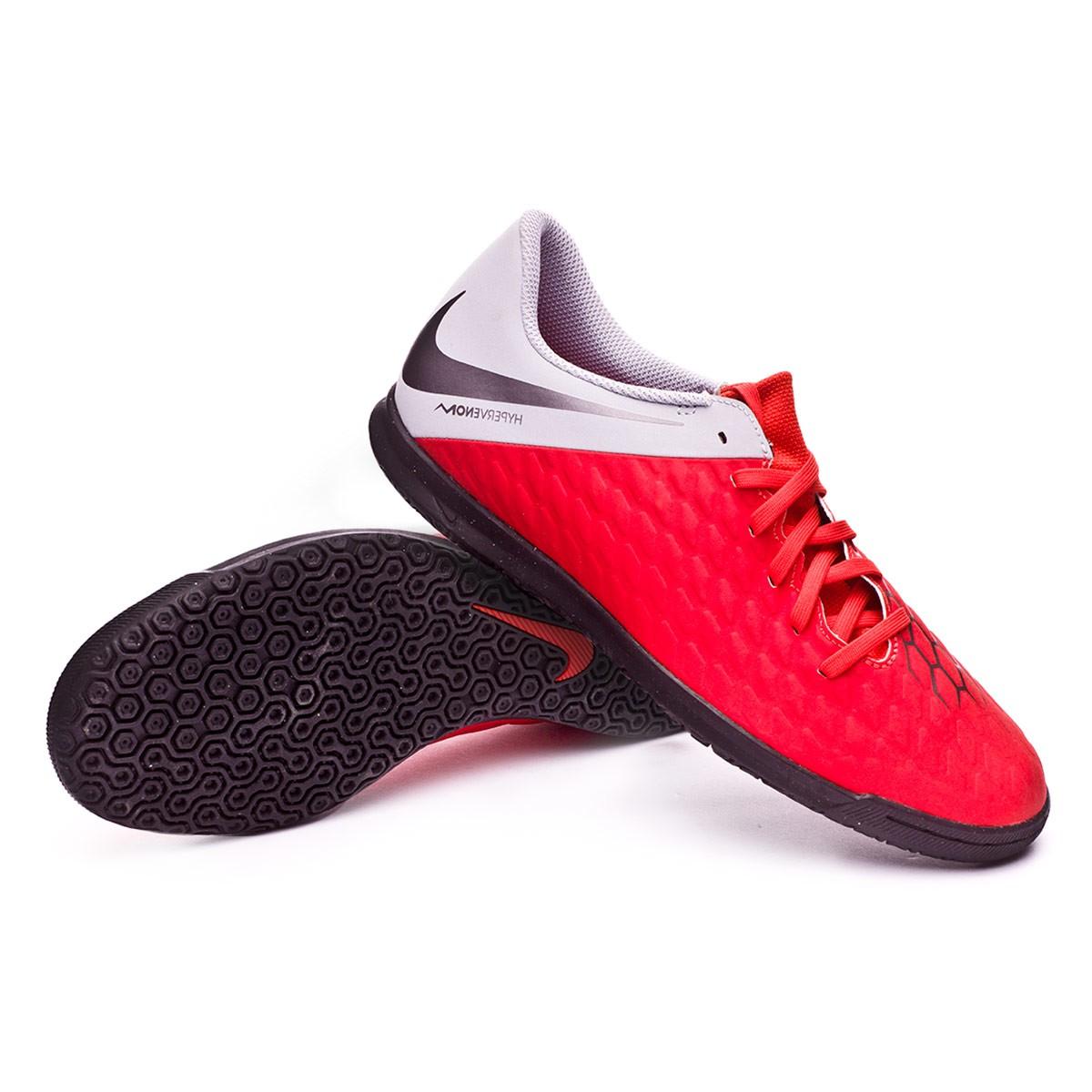 31d5d9ead16 Futsal Boot Nike Hypervenom PhantomX III Club IC Light crimson ...
