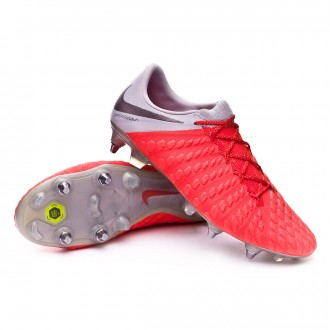 Bota  Nike Hypervenom Phantom III Elite Anti-Clog SG-Pro Light crimson-Metallic dark grey-Wolf grey