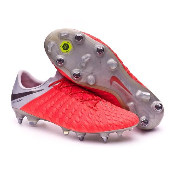 c21c4e51fe8 Football Boots Nike Hypervenom Phantom III Elite Anti-Clog SG-Pro Light  crimson-Metallic dark grey-Wolf grey - Tienda de fútbol Fútbol Emotion