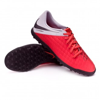 Zapatilla  Nike Hypervenom III Club Turf Light crimson-Metallic dark grey-Wolf grey