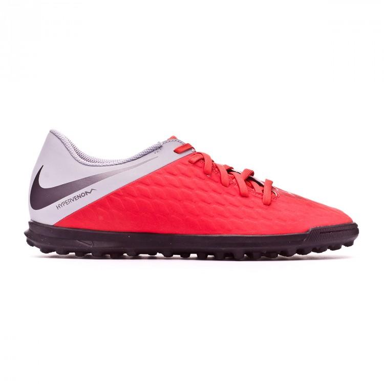 Football Boot Nike Hypervenom III Club Turf Light crimson-Metallic ... fdc1d052f3d
