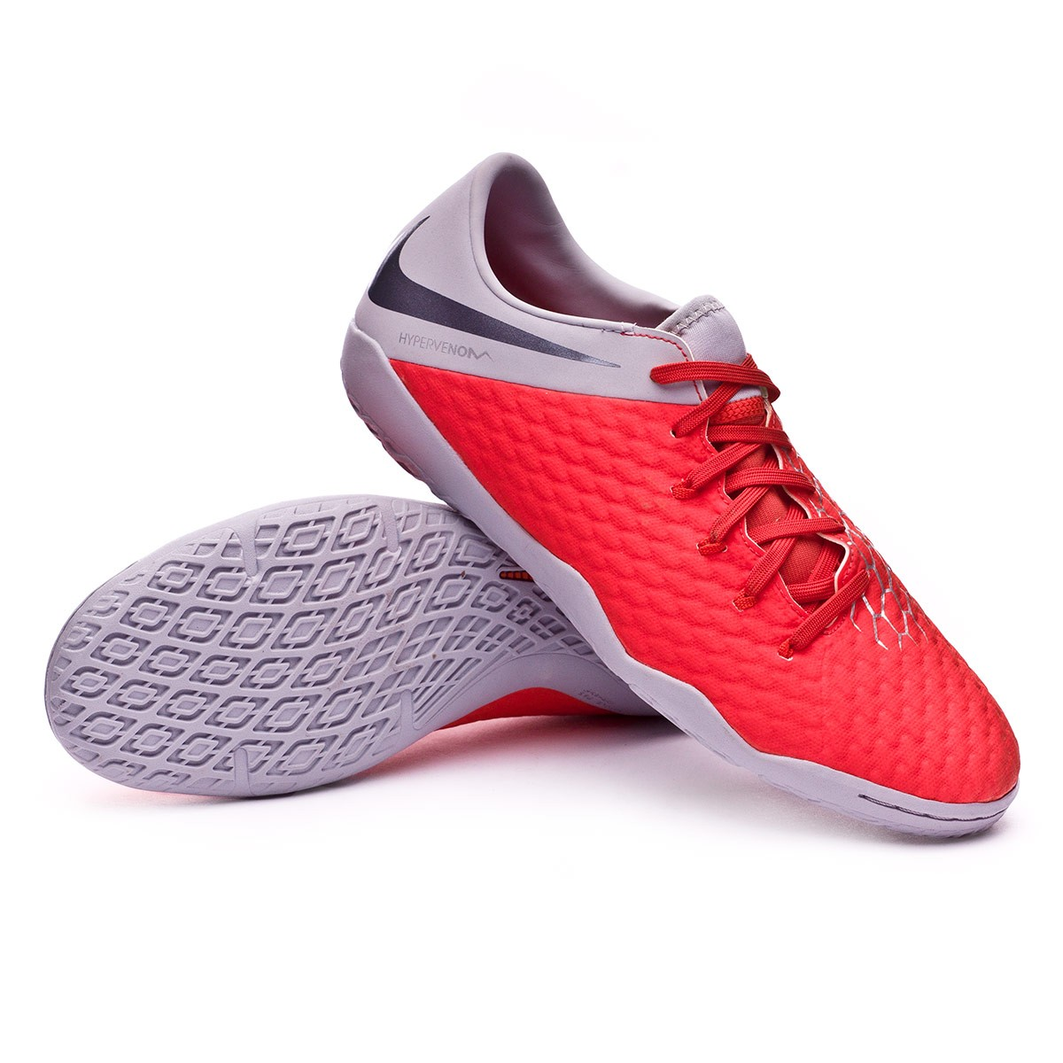 check out ef959 63a4d Futsal Boot Nike Hypervenom Phantom III Academy IC Light crimson ...