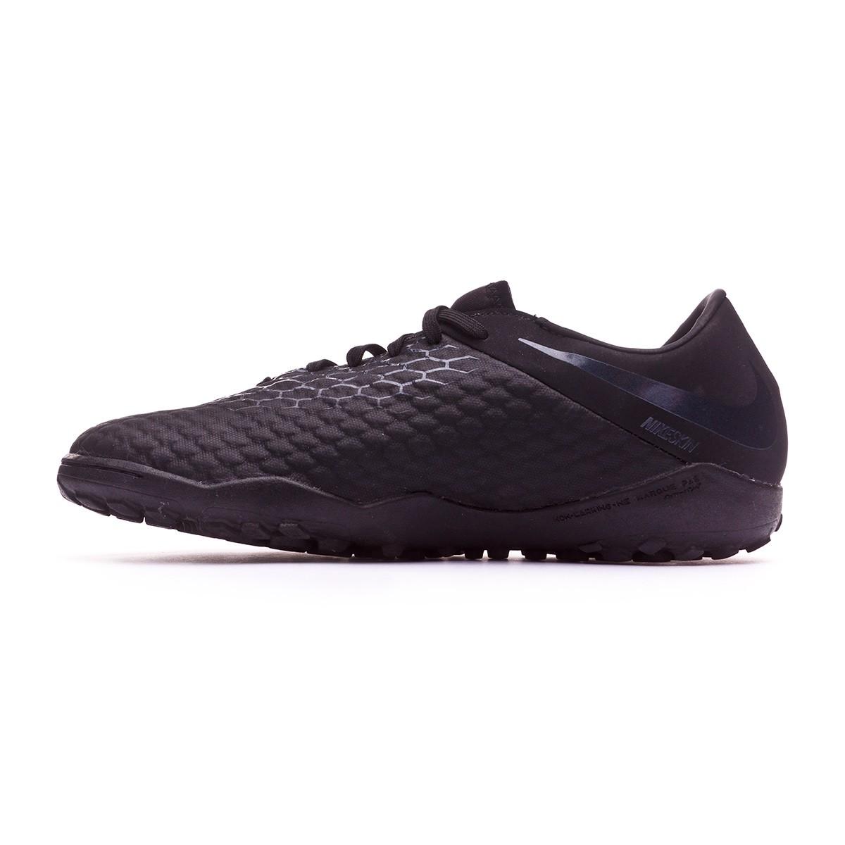 2a60b33de15a Football Boot Nike Hypervenom Phantom III Academy Turf Black - Tienda de  fútbol Fútbol Emotion
