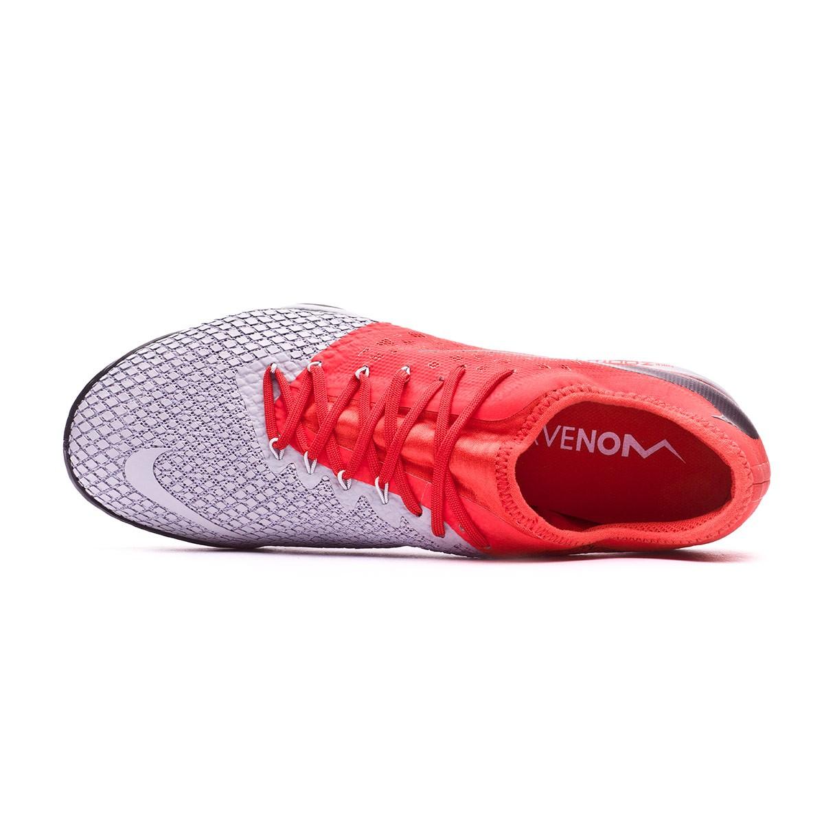 b09c7e06e Football Boot Nike Hypervenom Zoom PhantomX III Pro Turf Wolf grey-Metallic  dark grey-Light crimson - Tienda de fútbol Fútbol Emotion