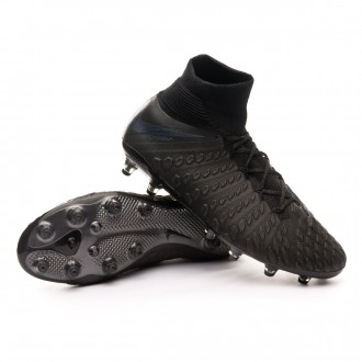 Zapatos de fútbol  Nike Hypervenom Phantom III Elite DF AG-Pro Black