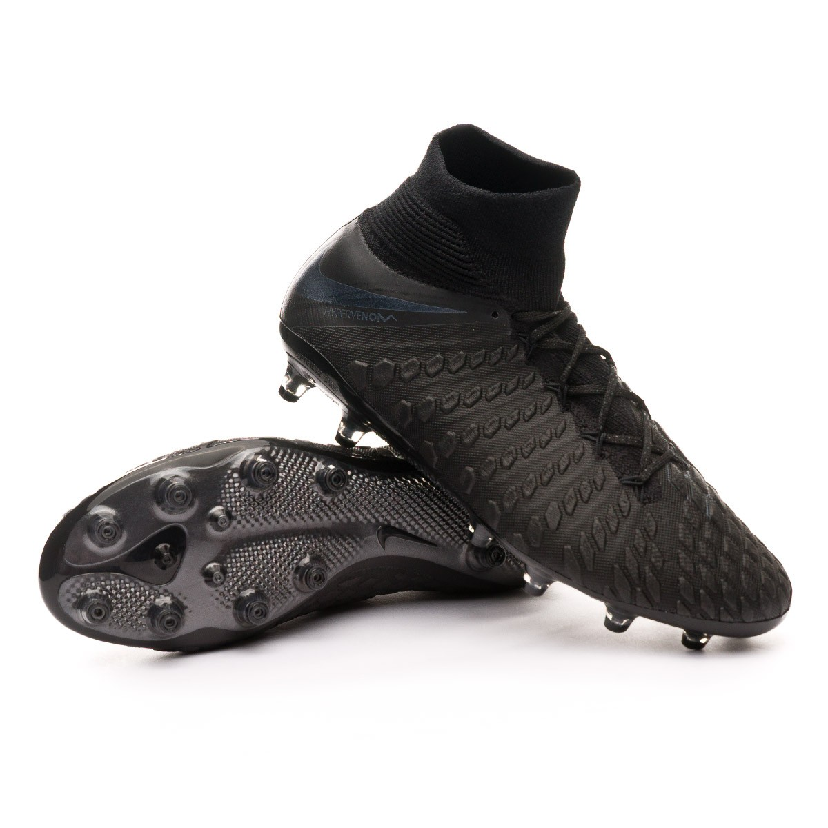 a2b5ec16b65e7 Boot Nike Hypervenom Phantom III Elite DF AG-Pro Black - Leaked soccer