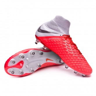 Bota  Nike Hypervenom Phantom III Elite DF AG-Pro Light crimson-Metallic dark grey-Wolf grey