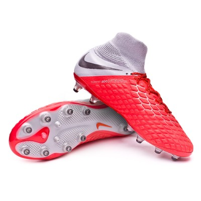 6a47b6a0152e Boot Nike Hypervenom Phantom III Elite DF AG-Pro Light crimson-Metallic  dark grey-Wolf grey - Leaked soccer