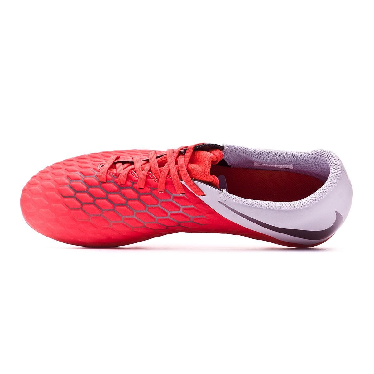 e9e5d1beb383 Football Boots Nike Hypervenom Phantom III Club FG Light crimson-Metallic  dark grey-Wolf grey - Tienda de fútbol Fútbol Emotion