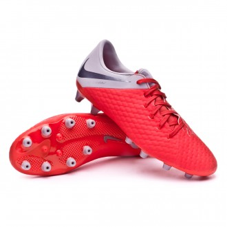 Bota  Nike Hypervenom Phantom III Academy AG-Pro Light crimson-Metallic dark grey-Wolf grey