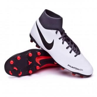 Boot  Nike Phantom Vision Club DF MG Pure platinum-Black-Light crimson-Dark grey