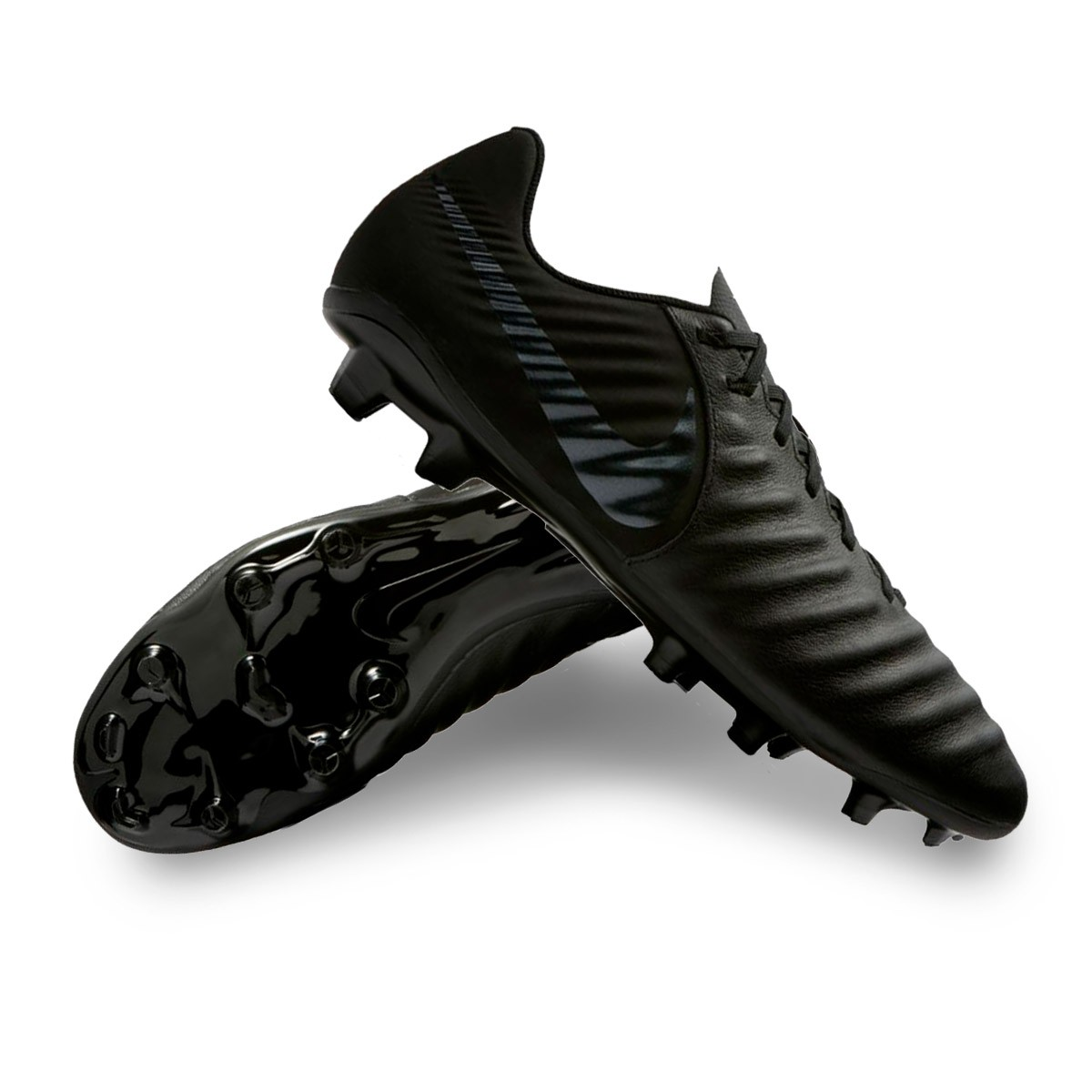 9da0e1e5c Football Boots Nike Tiempo Legend VII Academy FG Black - Football ...