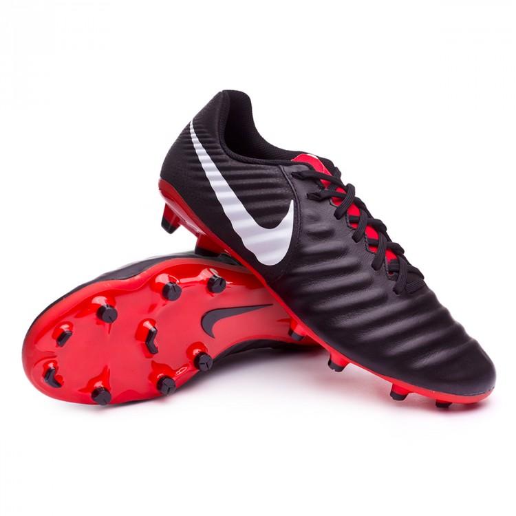 a4fb19b1f58 Football Boots Nike Tiempo Legend VII Academy MG Black-Pure platinum ...
