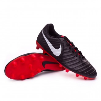 Bota  Nike Tiempo Legend VII Club MG Black-Pure platinum-Light crimson