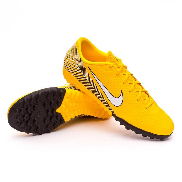 a819002ba699d Sapatilhas Nike Mercurial VaporX XII Academy Turf Neymar Yellow ...