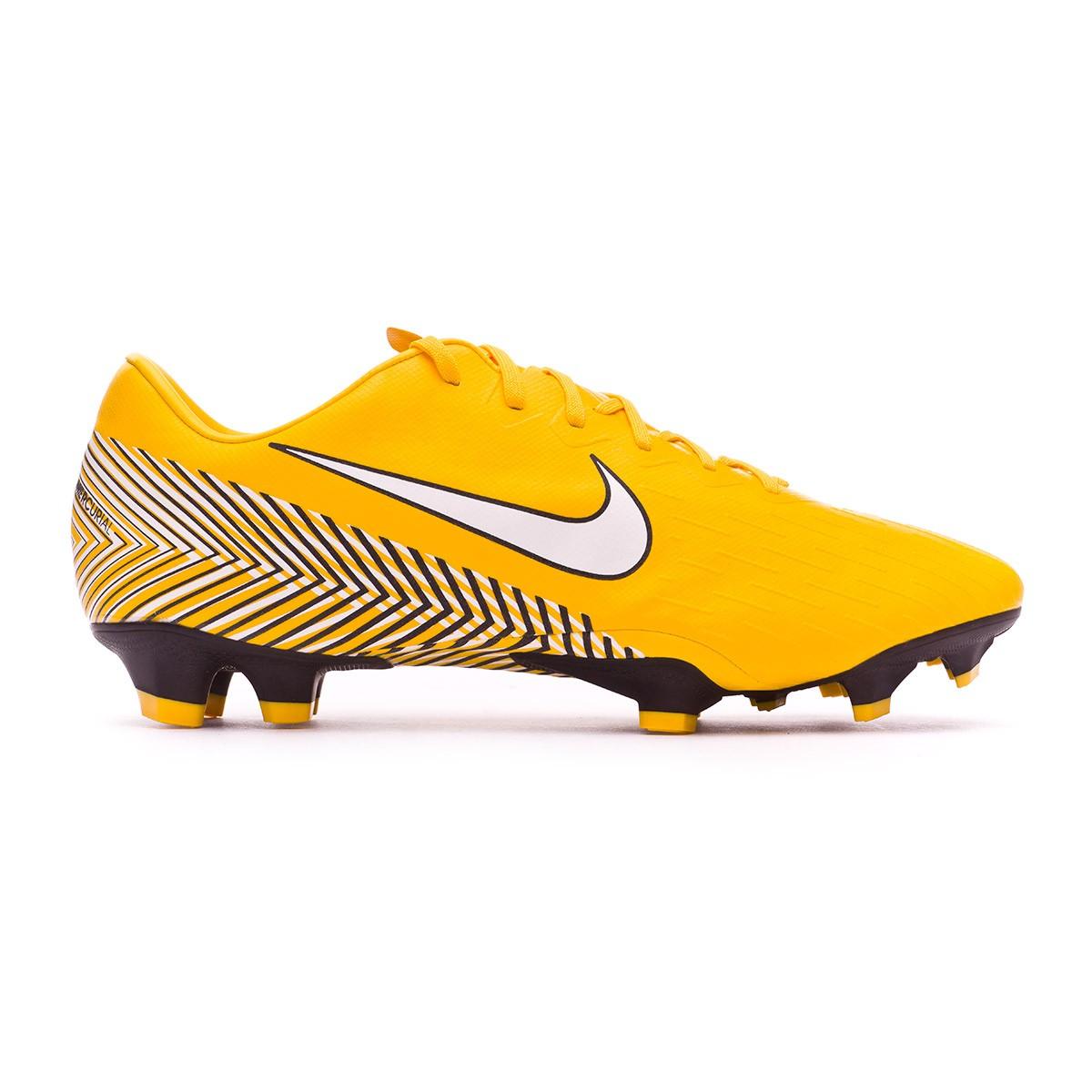 0e68e398c Football Boots Nike Mercurial Vapor XII Pro FG Neymar Yellow-Black -  Football store Fútbol Emotion