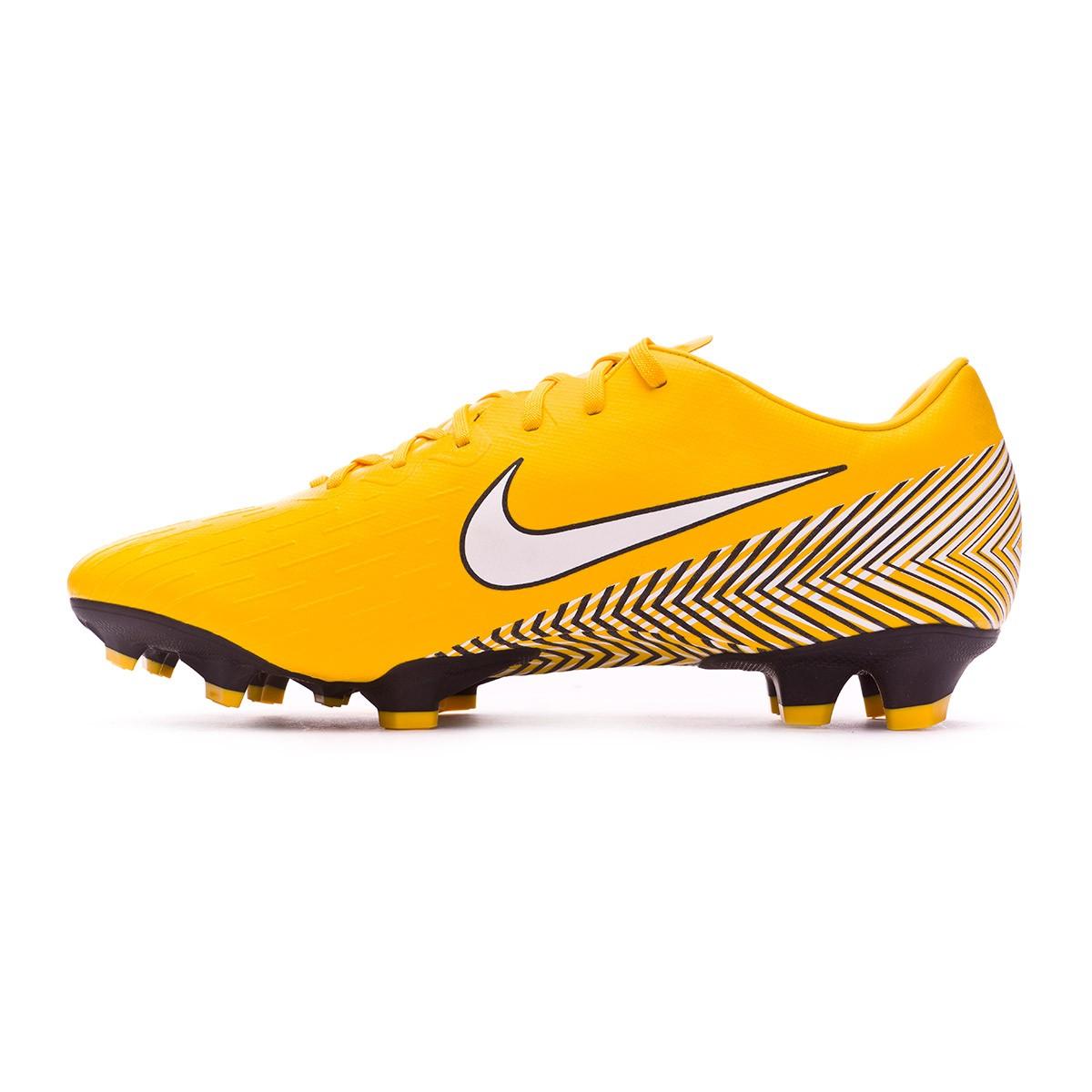 5f4d07c39 Football Boots Nike Mercurial Vapor XII Pro FG Neymar Yellow-Black - Football  store Fútbol Emotion