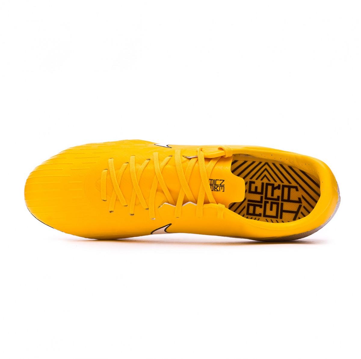 dac72dac4 Football Boots Nike Mercurial Vapor XII Pro AG-Pro Neymar Yellow-Black - Football  store Fútbol Emotion