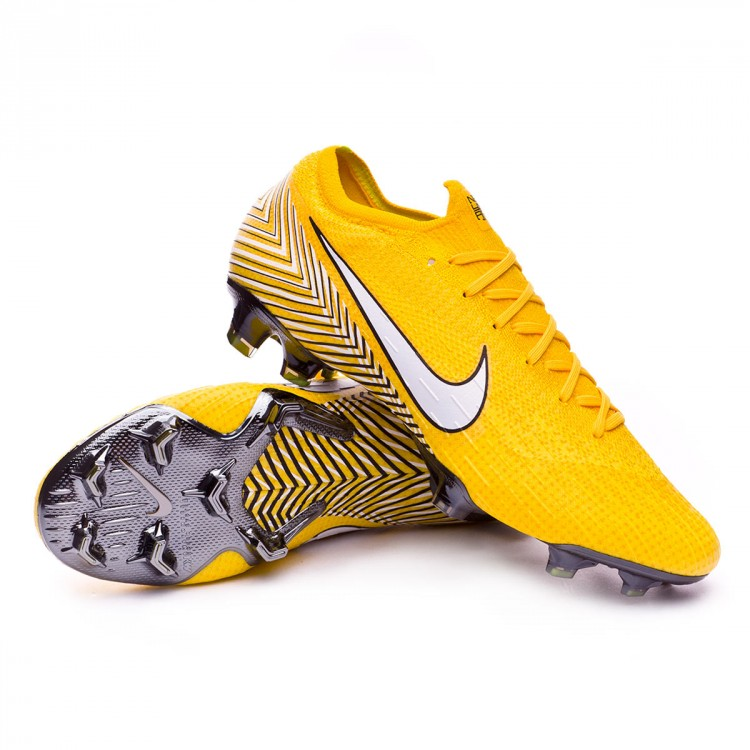 Bota Mercurial Vapor XII Elite FG Neymar Yellow Dinamic yellow Black