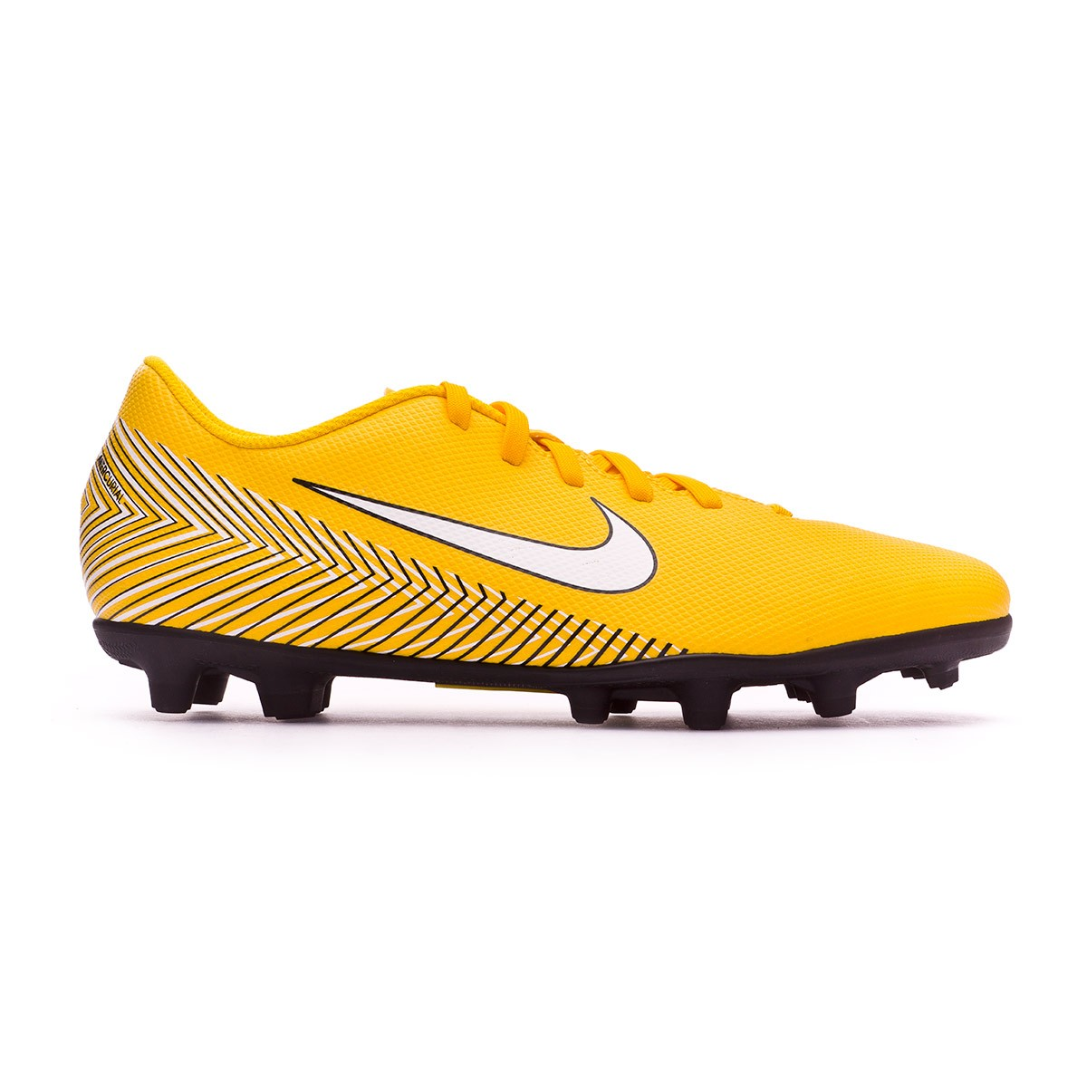 Zapatos de fútbol Nike Mercurial Vapor XII Club MG Neymar Yellow-Black -  Soloporteros es ahora Fútbol Emotion 45c91f5eea18a