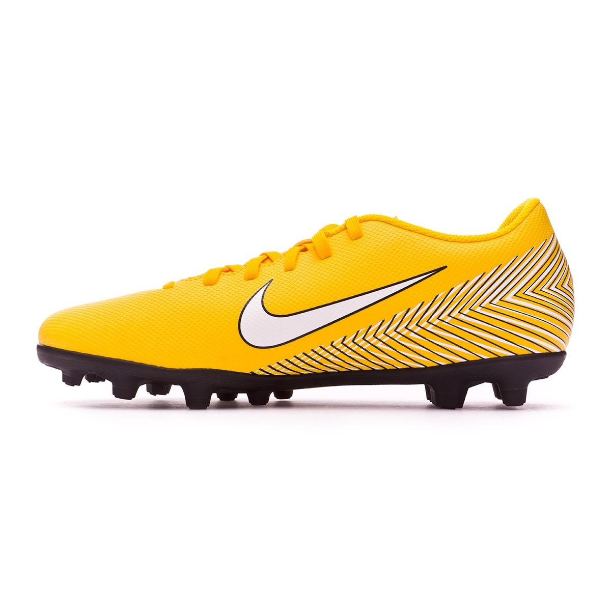 check out 9b99c 54d78 Scarpe Nike Mercurial Vapor XII Club MG Neymar Yellow-Black - Negozio di  calcio Fútbol Emotion
