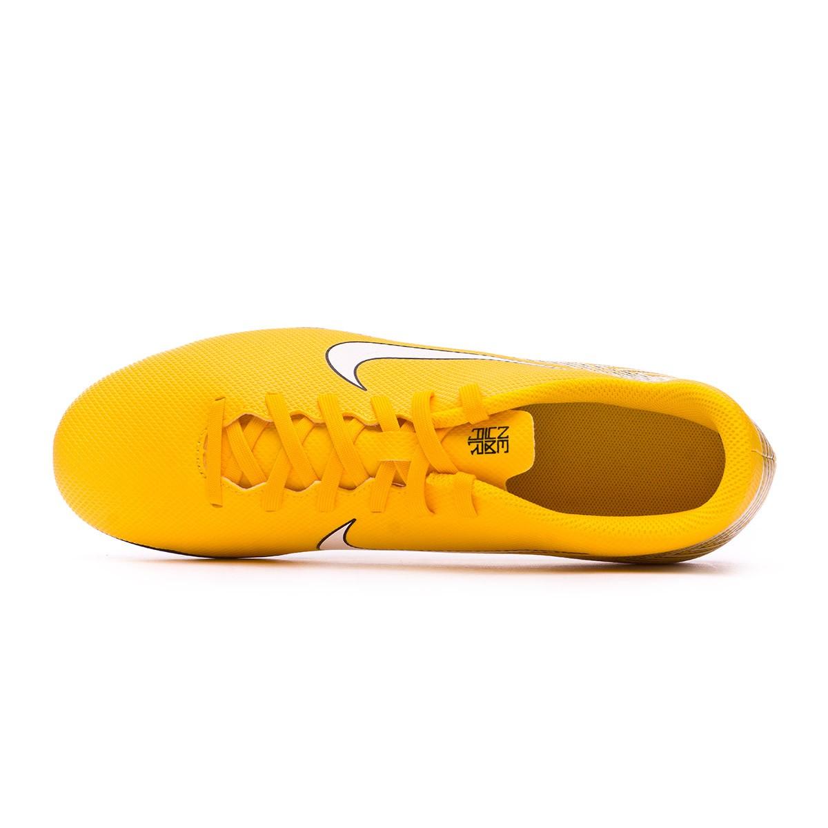 innovative design b5ebd 47053 Football Boots Nike Mercurial Vapor XII Club MG Neymar Yellow-Black -  Tienda de fútbol Fútbol Emotion