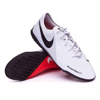 Football Boot  Nike Phantom Vision Academy Turf Pure platinum-Light crimson-White