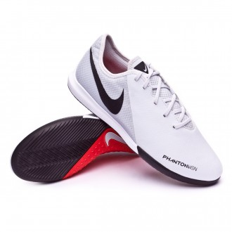 Futsal Boot  Nike Phantom Vision Academy IC Pure platinum-Light crimson-White