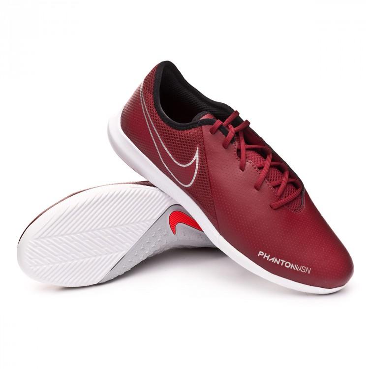6fac348fa4a Futsal Boot Nike Phantom Vision Academy IC Team red-Metallic dark ...