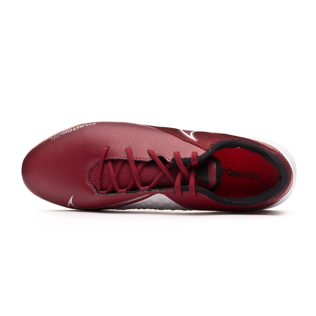 72cda0d3ca9 Futsal Boot Nike Phantom Vision Academy IC Team red-Metallic dark grey- Metallic silver - Football store Fútbol Emotion