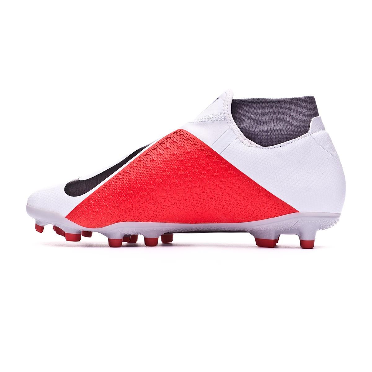 bf22328eccc Football Boots Nike Phantom Vision Academy DF MG Pure platinum-Black-Light  crimson-Dark grey - Football store Fútbol Emotion
