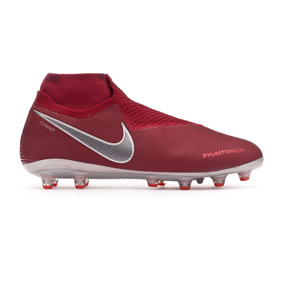 9c048f93c Football Boots Nike Phantom Vision Elite DF AG-Pro Team red-Metallic dark  grey-Bright crimson - Tienda de fútbol Fútbol Emotion