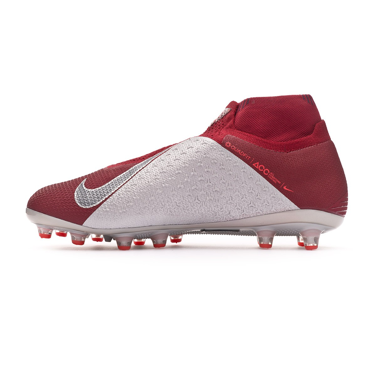 7f2d4f96c Football Boots Nike Phantom Vision Elite DF AG-Pro Team red-Metallic dark  grey-Bright crimson - Tienda de fútbol Fútbol Emotion
