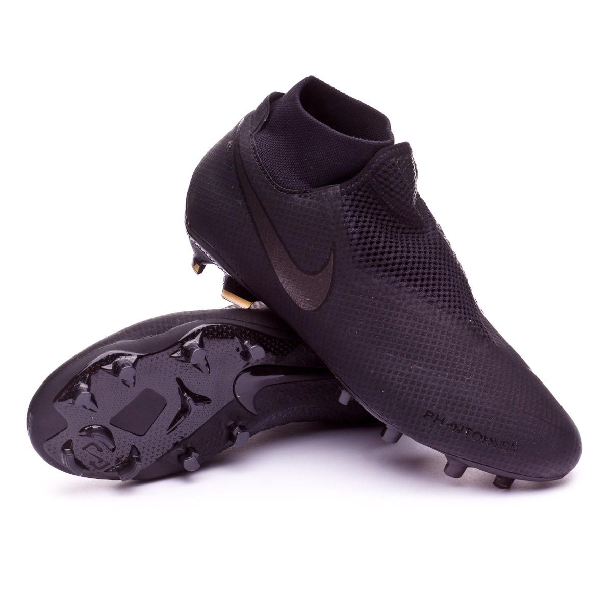 700c5da91 Football Boots Nike Phantom Vision Pro DF FG Black - Tienda de fútbol  Fútbol Emotion