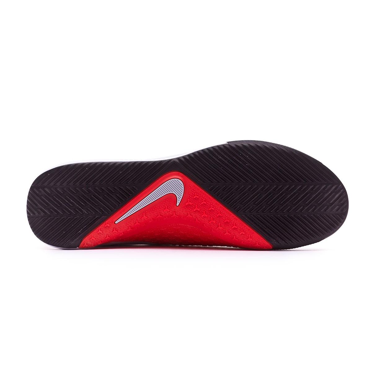 fadc3f98f6 Futsal Boot Nike Phantom Vision Academy DF IC Pure platinum-Black-Light  crimson-Dark grey - Football store Fútbol Emotion