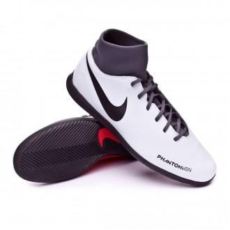 Zapatilla  Nike Phantom Vision Club DF IC Pure platinum-Black-Light crimson-Dark grey