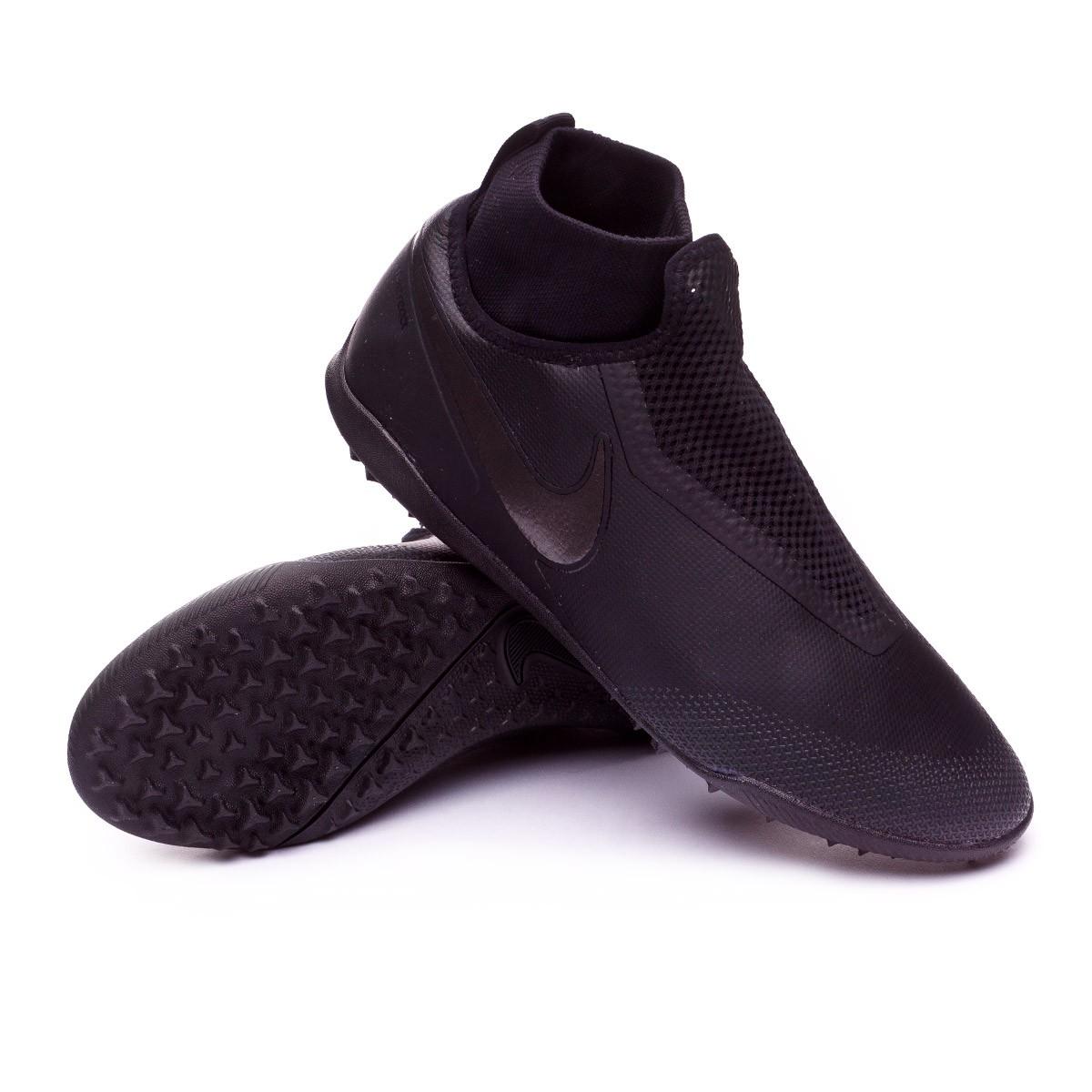 54d5965a11cb Football Boot Nike React Phantom Vision Pro DF Turf Black-Anthracite ...