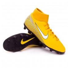 76460812d0c0e Football Boots Nike Mercurial Superfly VI Club MG Neymar Yellow ...