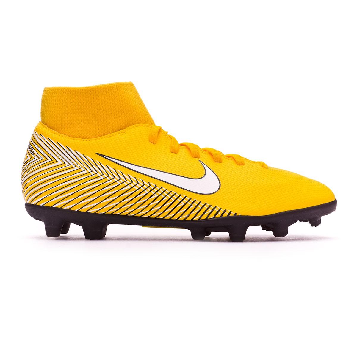 3bb3b10d544a Football Boots Nike Mercurial Superfly VI Club MG Neymar Yellow-Black -  Football store Fútbol Emotion